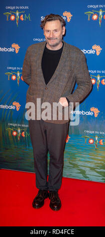London, United Kingdom. 16 January 2019. Julian Barratt arrives for the red carpet premiere of Cirque Du Soleil's 'Totem' held at The Royal Albert Hall. Credit: Peter Manning/Alamy Live News - Stock Image