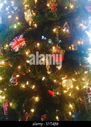 Christmas tree - Stock Image