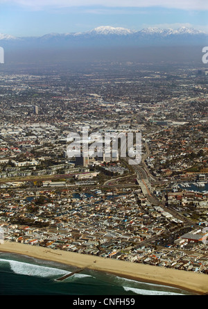 aerial photograph Orange County, California - Stock Image