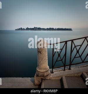 Cemetery Island, San Michele, Venezia, Venice, Venice Region, Italy - Stock Image
