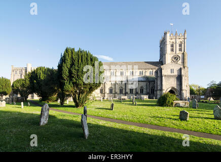Christchurch Priory - Stock Image