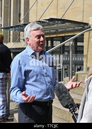 John Toner, NUJ National Organiser for Scotland. - Stock Image