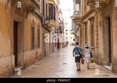 Ciutadella, Menorca, Balearic Islands - Stock Image