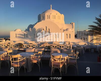 Thira, Santorini - Stock Image