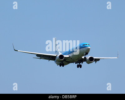 PH-BXK KLM Royal Dutch Airlines Boeing 737-8K2(WL) - cn 29598 1 - Stock Image