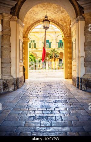 Valletta, Malta: Grand Masters Palace - Stock Image