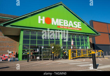Homebase, Ladymead Retail Park, Guilford, Surrey, UK - Stock Image