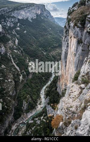 The Gorge du Verdon, Haute Provence, France - Stock Image
