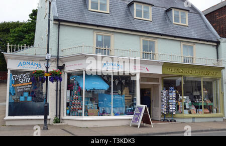 High Street, Aldeburgh, Suffolk, UK - Stock Image