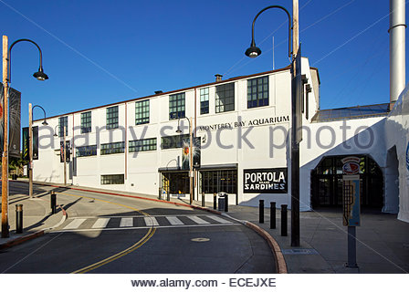 Monterey Bay Aquarium, exterior - Stock Image
