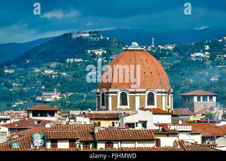 Landscape Views of Florence, Italy - Stock Image