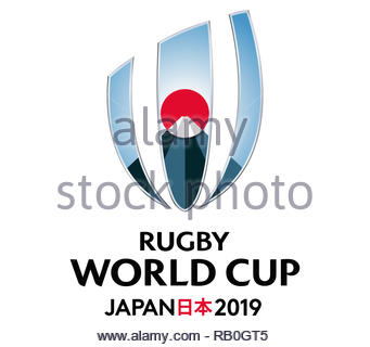 IRB Rugby World Cup logo - Stock Image