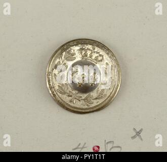 Button (France), 19th century - Stock Image