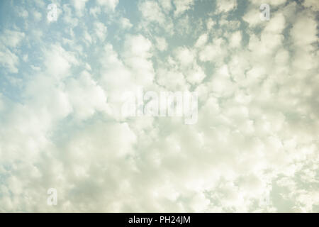 Clouds in the sky for different backgrounds - Stock Image