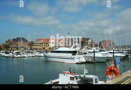 Weymouth Yacht Marina - Stock Image