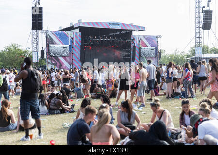 London, UK, 3rd July 2015.  New Look Wireless Festival, Finsbury Park  Credit:  Robert Stainforth/Alamy Live News - Stock Image