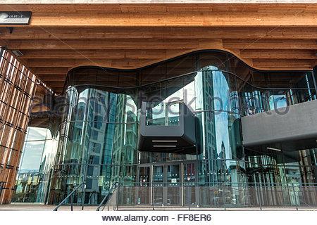 La Belle Électrique in Grenoble (France) : concert hall - Stock Image