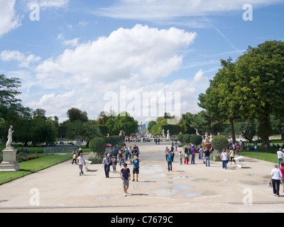 Jardin Du Carrousel, Paris France - Stock Image