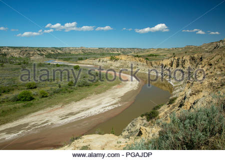Theodore Roosevelt National Park, North Dakota - Stock Image