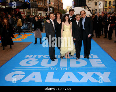 The Hitchhikers Guide to the Galaxy - World Premiere - UCI Empire - Leicester Square - Stock Image