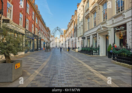 A pedestrianized street in London's West End - Stock Image
