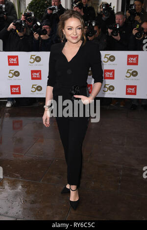 London, UK. 12th Mar, 2019. LONDON, UK. March 12, 2019: Rita Simonds arriving for the TRIC Awards 2019 at the Grosvenor House Hotel, London. Picture: Steve Vas/Featureflash Credit: Paul Smith/Alamy Live News - Stock Image