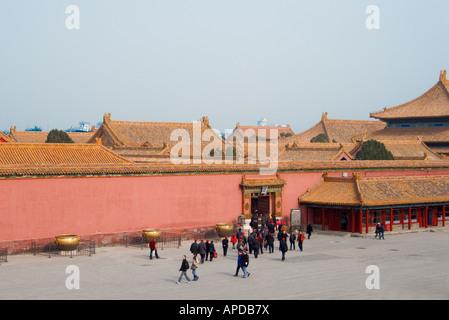 Forbidden City Beijing China - Stock Image