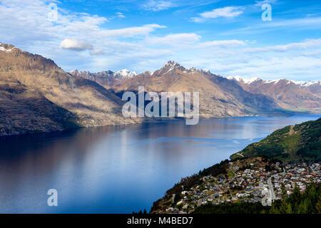Lake Wakatipu - Stock Image