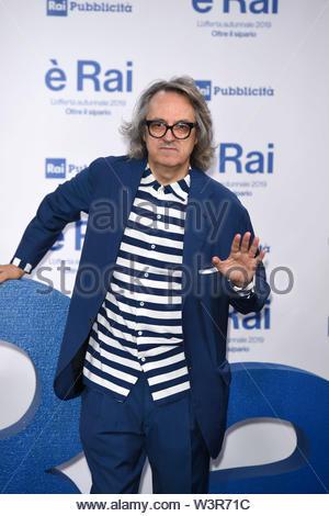 Gigi Marzullo milano, 13-07-2019 - Stock Image
