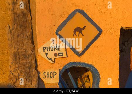Merzouga, Morocco - Stock Image
