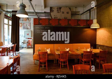 Restaurant in Arnheim, Niederlande - Stock Image