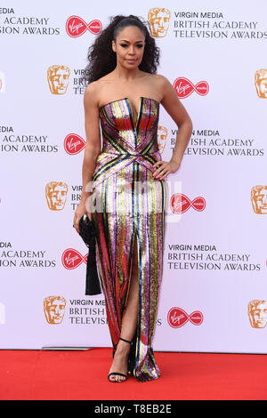 London, UK. 12th May, 2019. LONDON, UK. May 12, 2019: Sarah Jane Crawford arriving for the BAFTA TV Awards 2019 at the Royal Festival Hall, London. Picture: Steve Vas/Featureflash Credit: Paul Smith/Alamy Live News - Stock Image