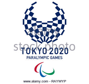 Tokyo 2020 Paralympic Games logo - Stock Image