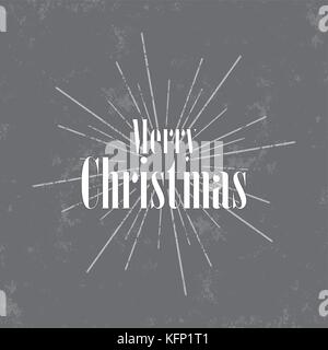 Christmas background vector gray. Design of greeting cards, wishes and wishes. - Stock Image