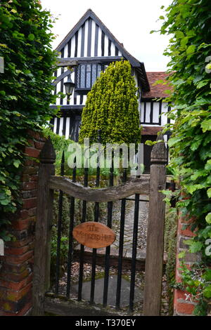 Tudor style house in Walberswick, near Southwold, Suffolk, UK - Stock Image