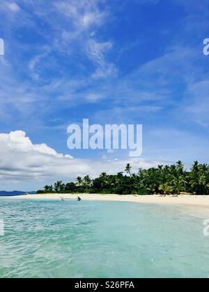 Tavarua island. Fiji. - Stock Image