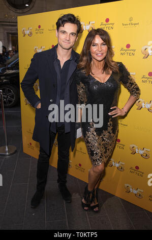 Celebs attend gala evening for Dolly Parton's 9 to 5 The Musical  Featuring: Josh Cundy, Lizzie Cundy Where: London, United Kingdom When: 17 Feb 2019 Credit: Phil Lewis/WENN.com - Stock Image