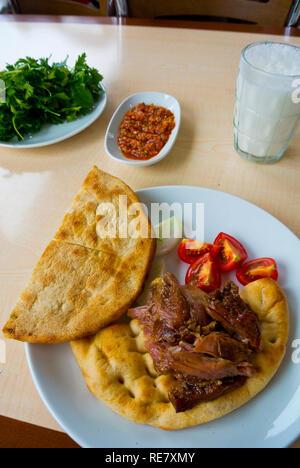 Firin Kebapi, local kebab specialty, Konya, Turkey - Stock Image