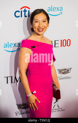 Leana Wen attends TIME 100 GALA on April 23 in New York City - Stock Image