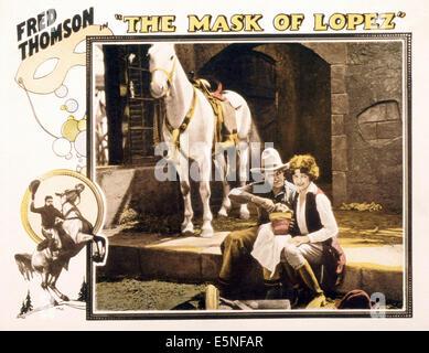 THE MARK OF ZORRO, Basil Rathbone, Linda Darnell, Tyrone Power, 1940, TM and Copyright ©20th Century-Fox Film - Stock Image