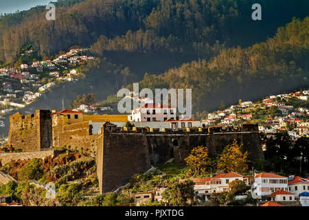 The Pico Fortress Funchal Madeira - Stock Image