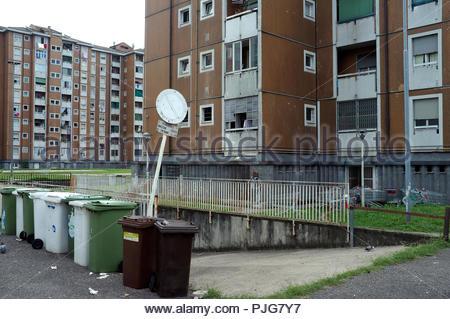 Housing apartments in Sesto San Giovanni, Milan, Italy. - Stock Image