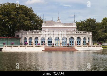 Tevaraj-Kanlai Gate at Bang Pa-In Palace, Ayutthaya, Thailand. - Stock Image