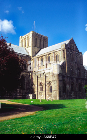 Winchester Cathedral England - Stock Image