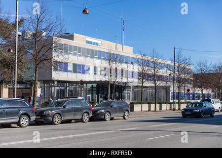 Embassy of the United States in Copenhagen, Denmark - Stock Image