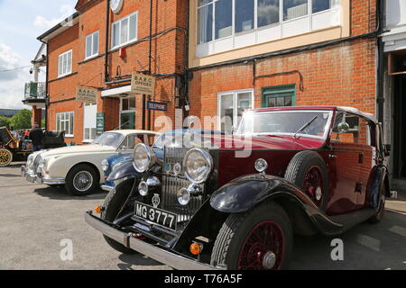Rolls-Royce 20/25 3.5 (1934), British Marques Day, 28 April 2019, Brooklands Museum, Weybridge, Surrey, England, Great Britain, UK, Europe - Stock Image