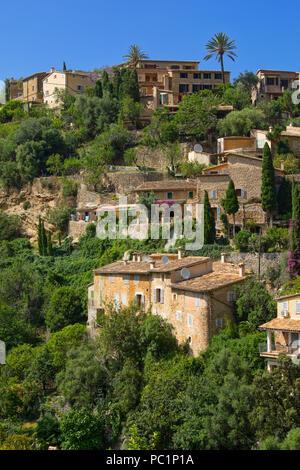 The village of Dela - Stock Image