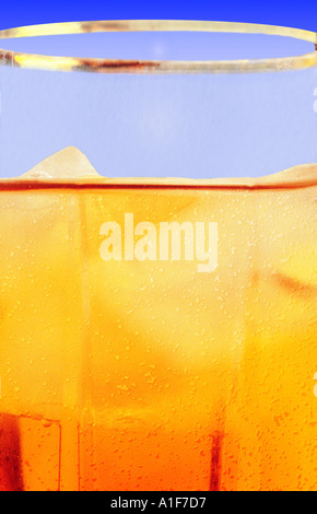 a generic soft drink - Stock Image