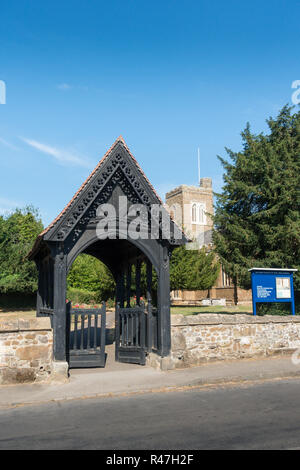 The Parish Church of Saint Mary Virgin, Northill, Biggleswade SG18 9AQ, UK - Stock Image