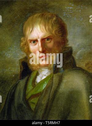 Gerhard von Kügelgen, Portrait of Caspar David Friedrich, c. 1810-1820 - Stock Image